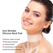 1pc Reusable Silicone Care Neck Pad Neck Tape Wrinkle Pads For Neck Wrinkle Treatment Prevention Anti Wrinkle Remover Makeup
