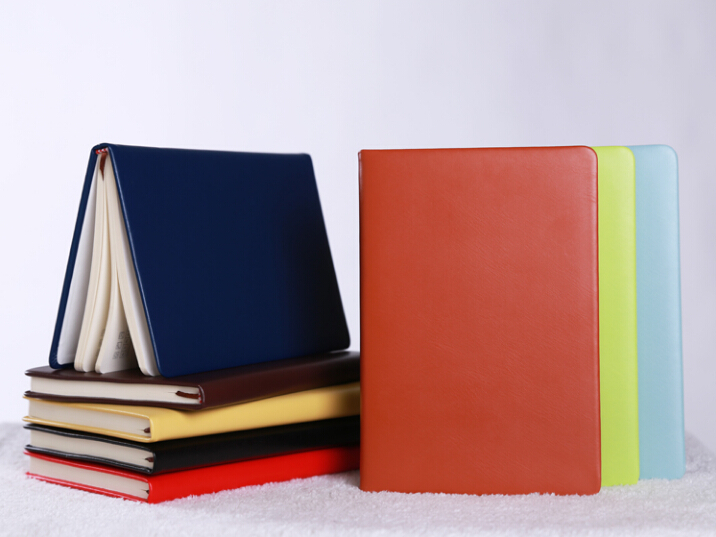 Wholesale PU Leather Business Notebook Company Office Logo Customized Book Binder Stationery School Supplies wholesale opening film ru tea caddy sealed cans antique embossed pattern logo customized gift packaging