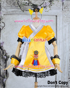 Vocaloid 3 V3 SEEU Cosplay Costume Outfit H008(China)