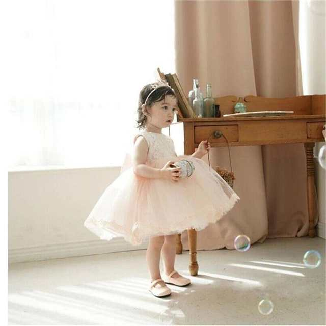 c7b1d7d1f70b Girls Dress For Girl Wedding Party Infant Bebes Summer Dress Toddler Baby  Dresses Cute Tutu Lace