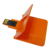 Frete grátis 1 peças/lote cor preta tipo de alta velocidade usb de alta capacidade 2.0 de plástico do cartão de crédito 16 gb usb