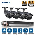 ANNKE 4CH HD 720P HDMI DVR 1280TVL Outdoor CCTV Home Surveillance Camera System