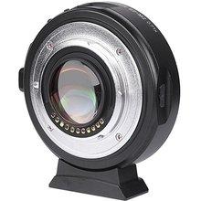 Viltrox EF-M2 AF Autofokus EXIF 0.71X Reduser hastighetsforsterker-objektivadapter Turbo til Canon EF-objektiv til M43-kamera GH4 GH5 GF6 GF1