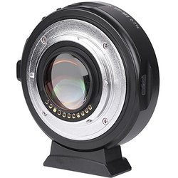 Viltrox EF-M2II AF Автофокус EXIF 0.71X уменьшение скорости бустер адаптер для объектива турбо для Canon EF Объектив M43 камера GH4 GH5 GF6 GF1