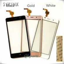 Syrnx + 3 м Ленты 5.7 дюймов Сенсорный Экран Для Leagoo M8 Сенсорный экран Планшета Передняя Стеклянная Панель Замена Для Leagoo M8 Мобильный телефон