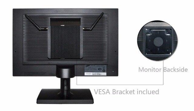 4 * Gigabit Ethernet RJ-45 Lan порты Мини ПК роутеры i5 i7 безопасности AES-NI безвентиляторный Qotom Pfsense межсетевой экран 4