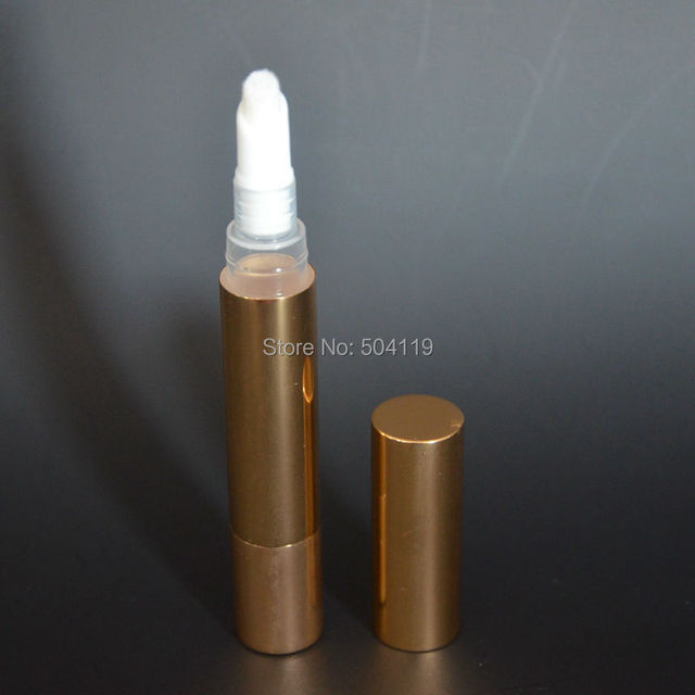 5ml gold teeth whitening nail polish pen lip gloss pencil liquid ...