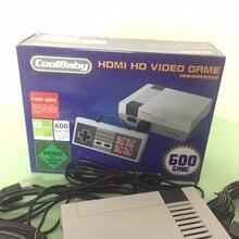 Wedoi HDMI Mini игровой консоли Ретро ТВ Ручной игровой консоли для NES игры встроенный 600 различных игр с HDMI Выход PAL и NTSC