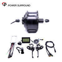 2019 Eletrica Waterproof 48v500w Fat Rear Cassette Brushless Hub Motor Snow Conversion electric Wheel ebike system