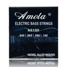 где купить 4 Strings Electric Bass Strings Guitar Strings 4 5 String Stainless Steel Silver Plated Gauge Bass Guitar дешево