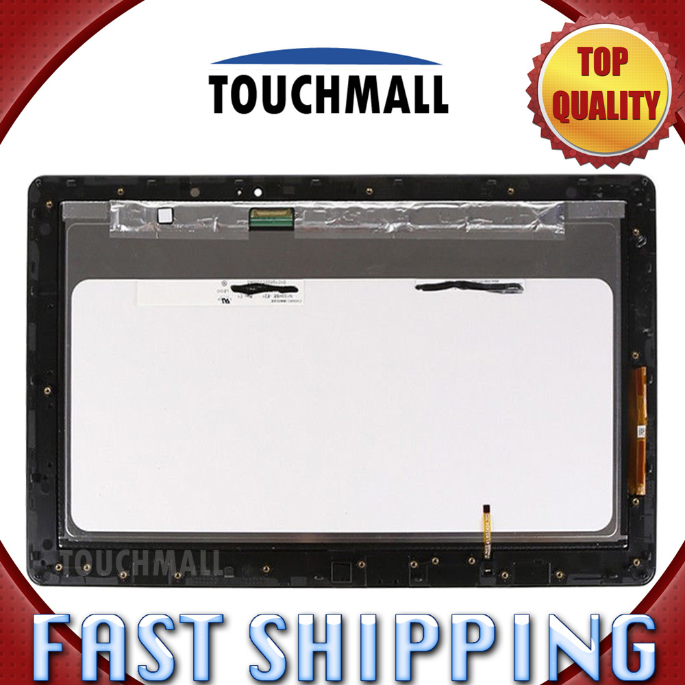 For New LCD Display Touch Screen with Frame Assembly Replacement For ASUS Transformer Book TX300 TX300CA 10.1-inch Free Shipping  new for asus transformer book tx300ca tx300ca dh71 lcd display touch screen digitizer tablet pc free shipping