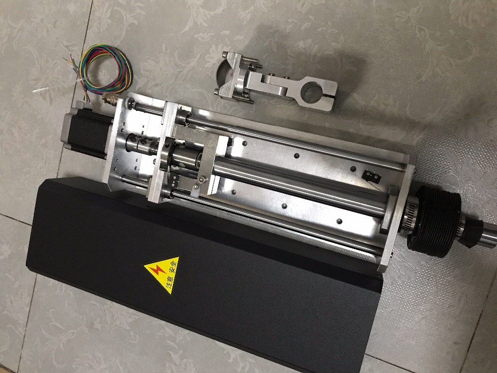 200mm Travel CNC Flame Plasma Cutting Lifter Z axis 1250mm/min With Nema23 stepper motor