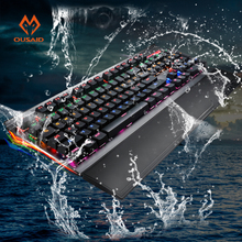 gamer mechanic keyboard usb tastatur teclado gaming clavier klawiatura pc backlit computador teclas mecanico mechanical