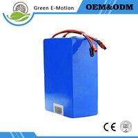 Custom 48V 1000W 20AH Bike Lithium Battery High Power High Capacity Electric Vehicle Lithium Battery Pack