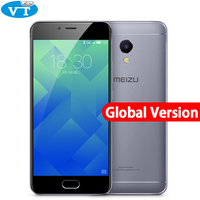 Original Meizu M5S Global Firmware 4G LTE Cell Phone 5 2 3GB RAM 32GB ROM Fingerprint