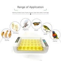 24 Digital Egg Incubator Chicken Poultry Automatic Incubator Poultry Eggs Poultry Incubation Equipment Egg Hatcher Brooder