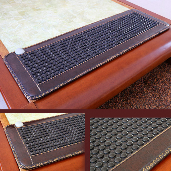 Best Selling As seen <font><b>on</b></font> tv 2016 Natural Jade Mattress Korea Tourmaline Mattress Heated Health Mattress For Sale Free Shipping
