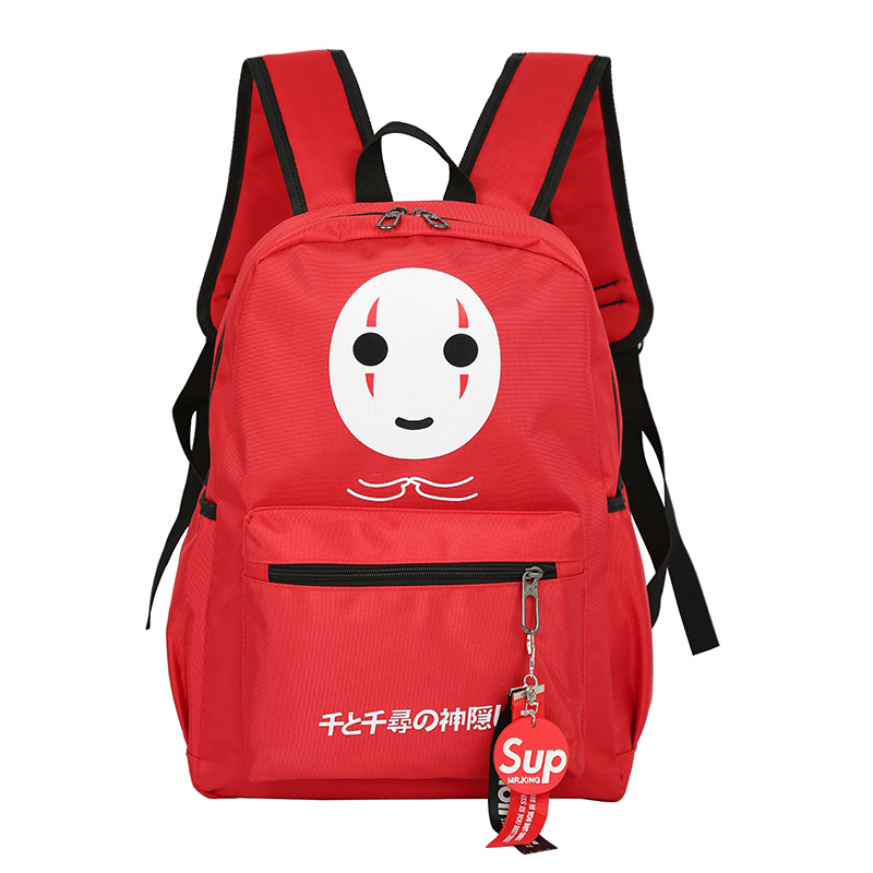 Hayao Miyazaki Anime <font><b>Spirited</b></font> <font><b>Away</b></font> <font><b>Backpack</b></font> Laptop Bags large capacity students school bags for teenagers image