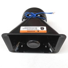 200W Electronic Horn Car Alarm Siren Loudspeaker Horn Plastic Automotive Siren Car Styling Police Horn Megaphone Buzzer