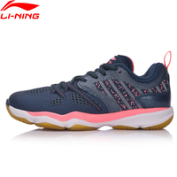 Li Ning Women Ranger Daily Badminton Shoes Stability TPU Support Sneakers Skid Resistance LiNing Sport Shoes AYTM074 XYY062