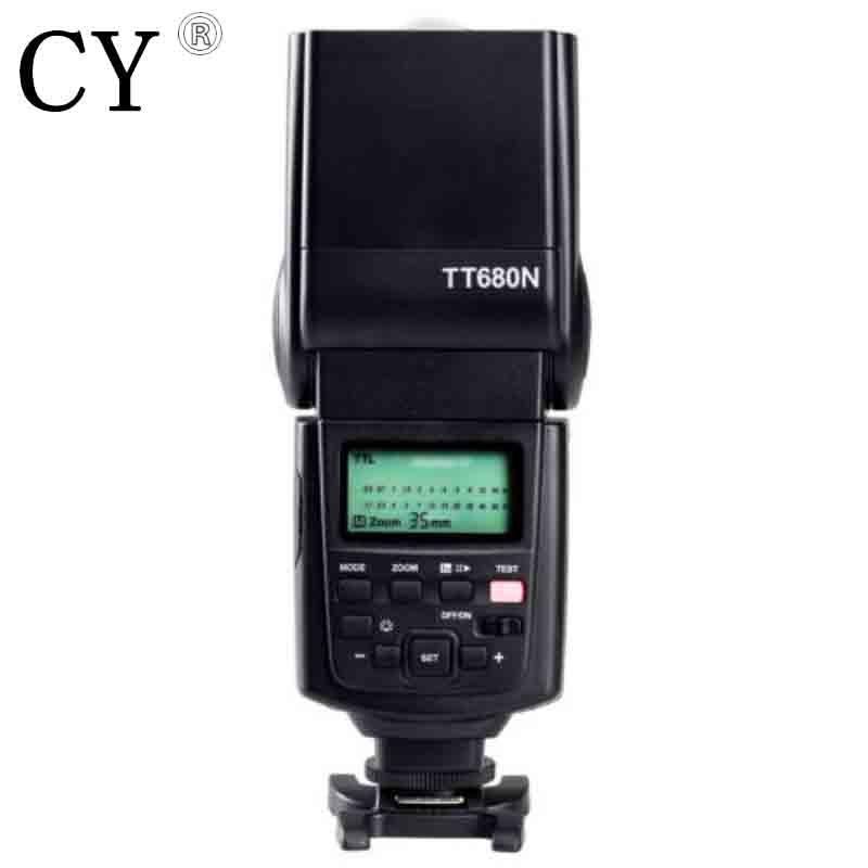 Inno GODOX ThinkLite TT680 Flash Speedlite High Sync E-TTL II for Canon EOS Camera of High Quality GN58 ismartdigi lp e6 7 4v 1800mah lithium battery for canon eos 60d eos 5d mark ii eos 7d