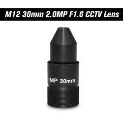 """2.0MP Пинхол 30 мм объектив CCTV стойка MTV Объектив M12 * P0.5 Крепление объектива 1/2. 7 """"формат изображения диафрагма F1.6 для Объектив ip-камера"""