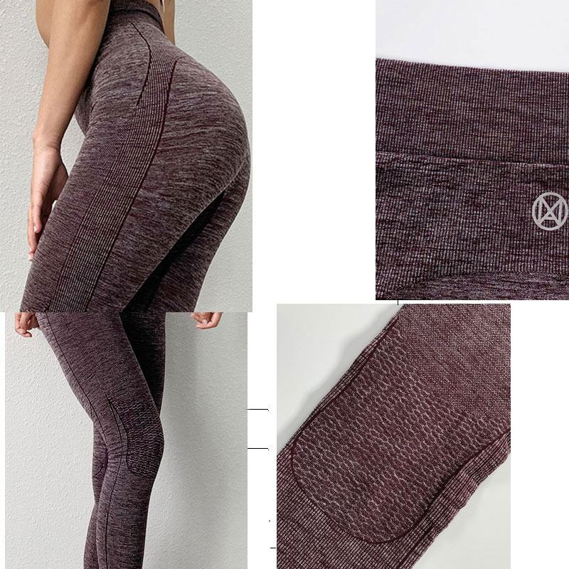 Quick Dry Seamless Gym Leggings Yoga Leggings Women Sports Tights Woman Fitness Gym Tights Women Training Femme Yoga Clothing in Yoga Pants from Sports Entertainment