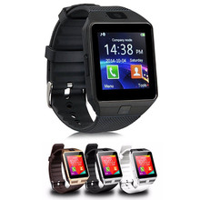 Bluetooth Smart Watch dz09 with Camera WristWatch Call Reminder SIM Card Smartwatch for Android ios Phones Wearable Devices