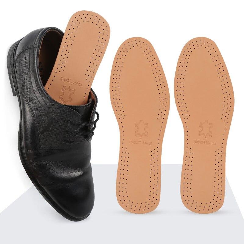 Tcare 1 пара ультра тонкий дышащий дезодорант кожаные стельки мгновенно впитывает пот замена внутренней подошвы обуви Стельки колодки