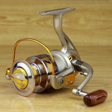 2015 new Bearing Balls Spool Aluminum Spinning fly fishing reels for Feeder baitcasting fishing  front drag
