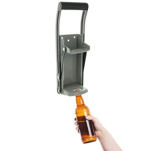 Image 3 - Bottle Opener Beer Tin Can Crusher With Grip Handle Wall Mounted Recycling Tool Environmentally Friendly Coke Bottle Flattening