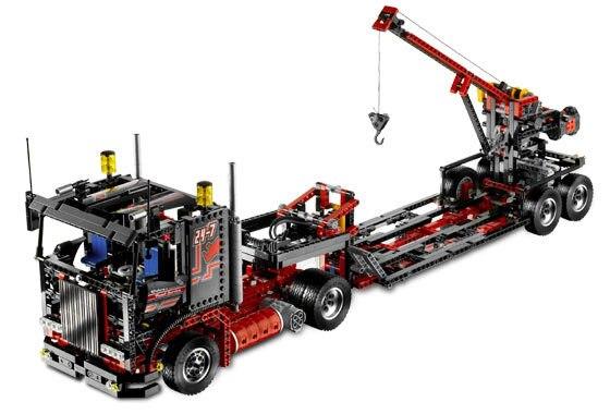 LEPIN 20020 El Mecánico Estilo Americano de Bloques de Construcción de Camiones