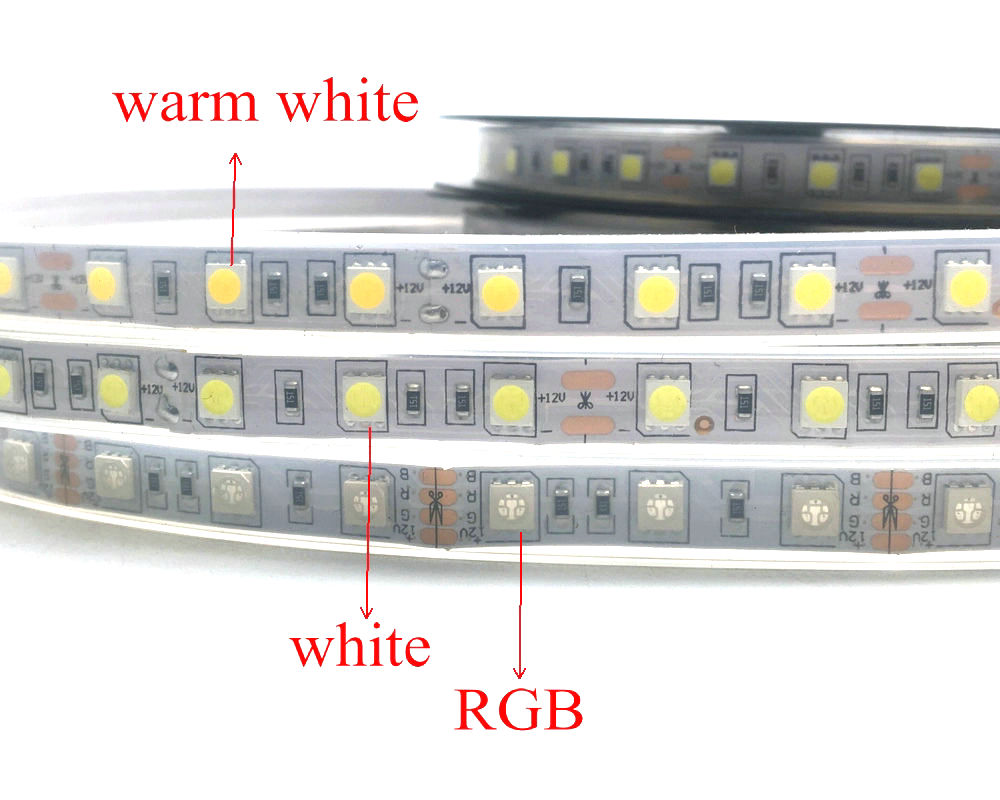 IP67 5050 Tira de LED DC12V 60 LED / M Alta calidad Tubo de silicona - Iluminación LED - foto 2