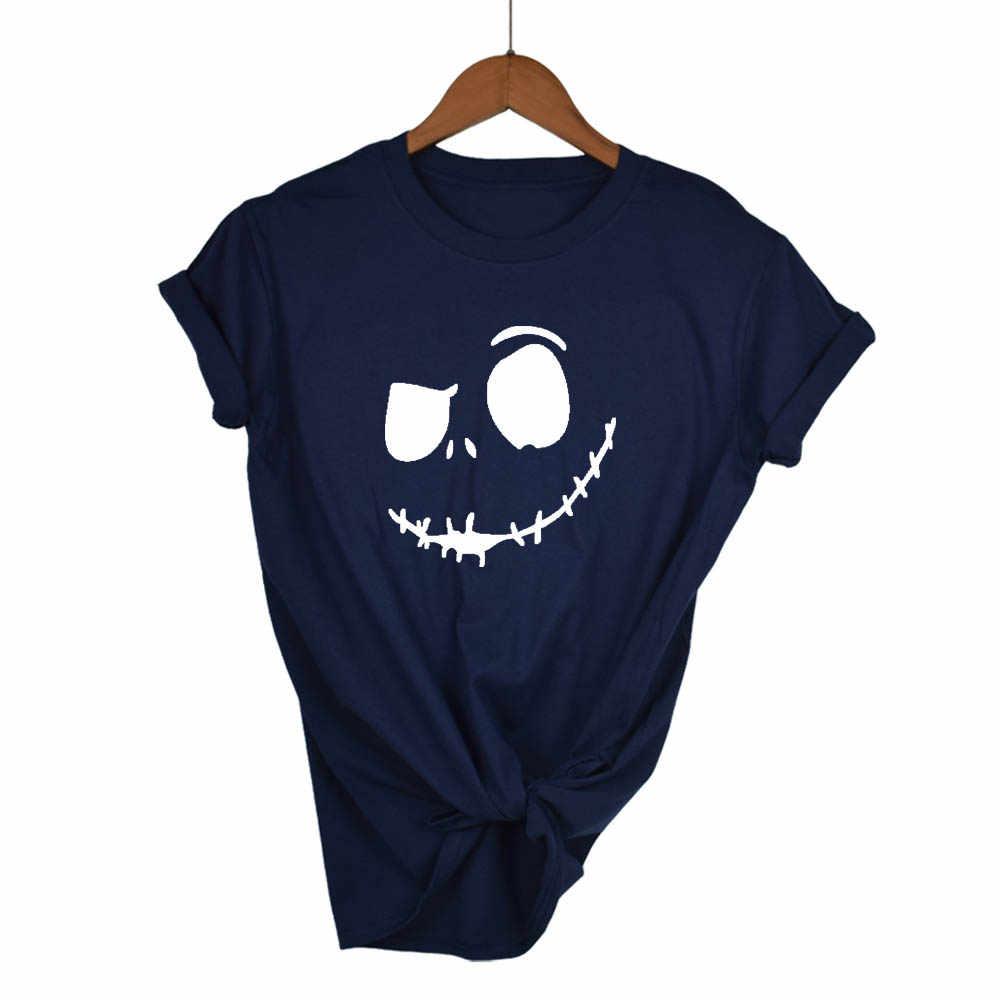 Śmieszne grymas drukowanie fajne T-shirt kobiety Tshirt lato topy koszulki z krótkim rękawem duży rozmiar moda tanie wysokiej jakości T Shirt