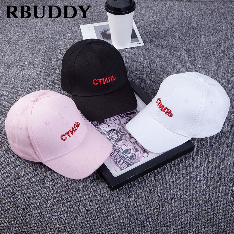 aa161ca7b79 RBUDDY 2018 Russia Letter Youth Baseball Caps Hip Hop Snapback Casual  Summer Dad Hat for Women ...