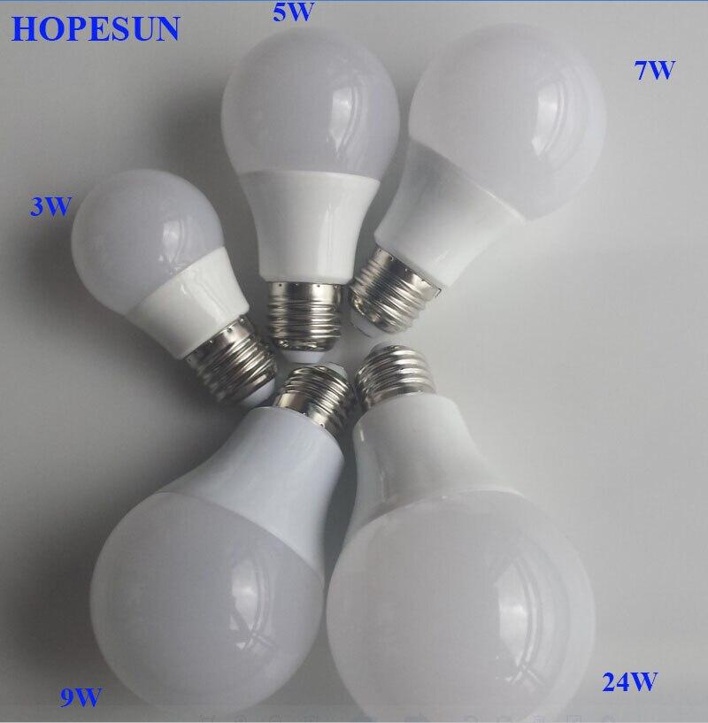Energy Saving Ampoule E27 SMD 5730 LED Bulb Lights 110V 220V 240V 3W 5W 7W 9W 12W LED Lamp 5W High Power Lamparas LED Light