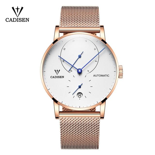 2018 Новый известный бренд золото Повседневное Женева механические часы Для мужчин сетки Нержавеющаясталь XFCS Для мужчин часы Relogio Masculino часы
