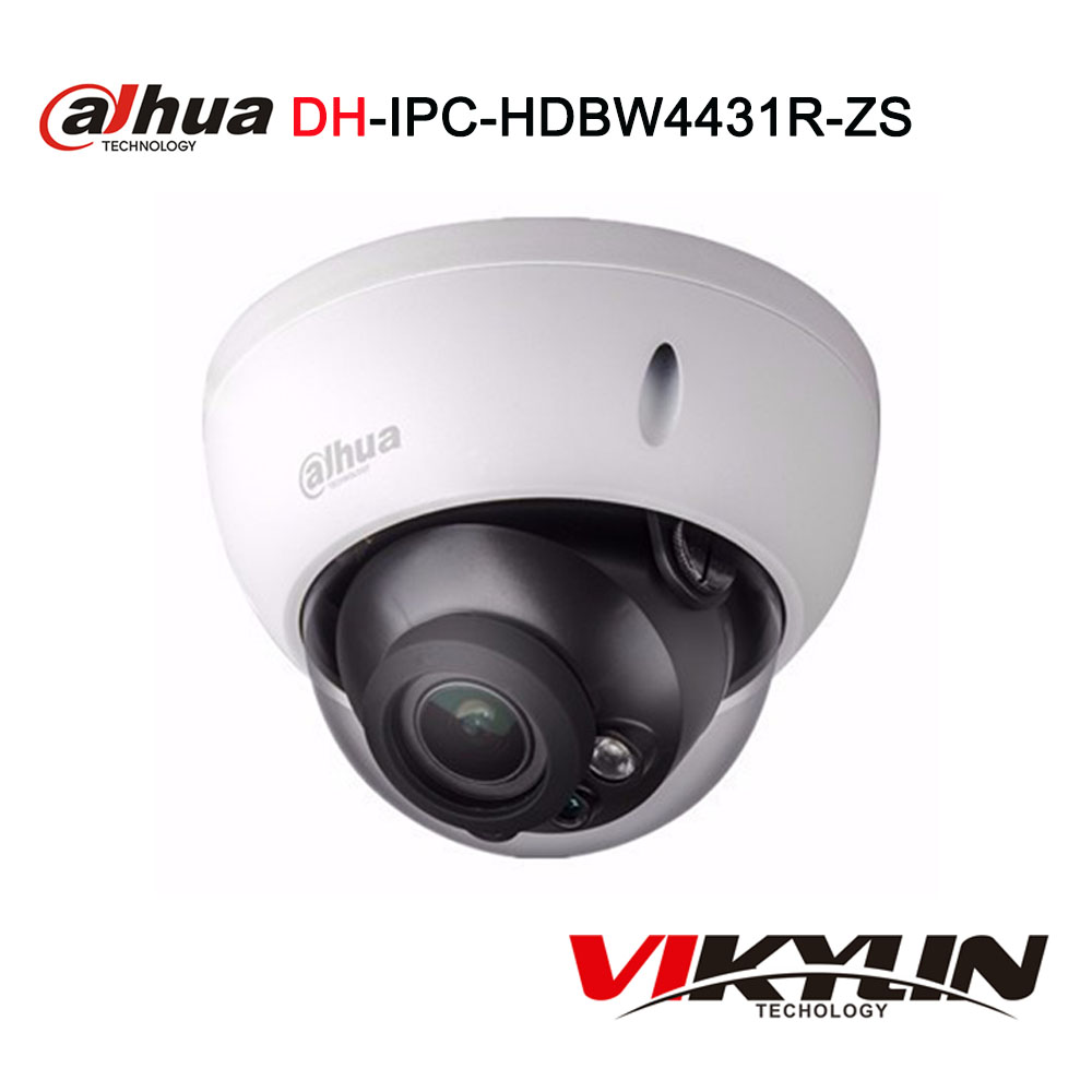 Dahua IP 2.8mm 12mm varifocal motorized lens camera POE 4MP