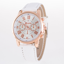 2015 New Famous Brand Gold geneva Casual Quartz Watch Women Leather Strap Watches Relogio Feminino Clock Ladies Analog Hot Sale цена