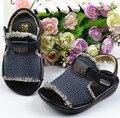 Лето мальчик сандалии натуральная кожа сандалии обувь для детей дети 1 - 3 года старый F199