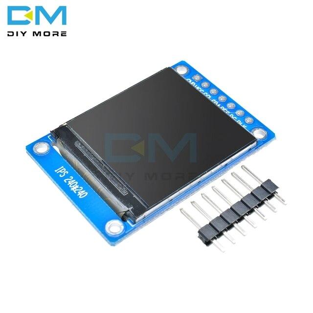 1.3 pollici 7 pin IPS HD TFT ST7789 Unità IC 240*240 La Comunicazione SPI 3.3V di Tensione 4 Filo SPI Interfaccia LCD A Colori Display OLED