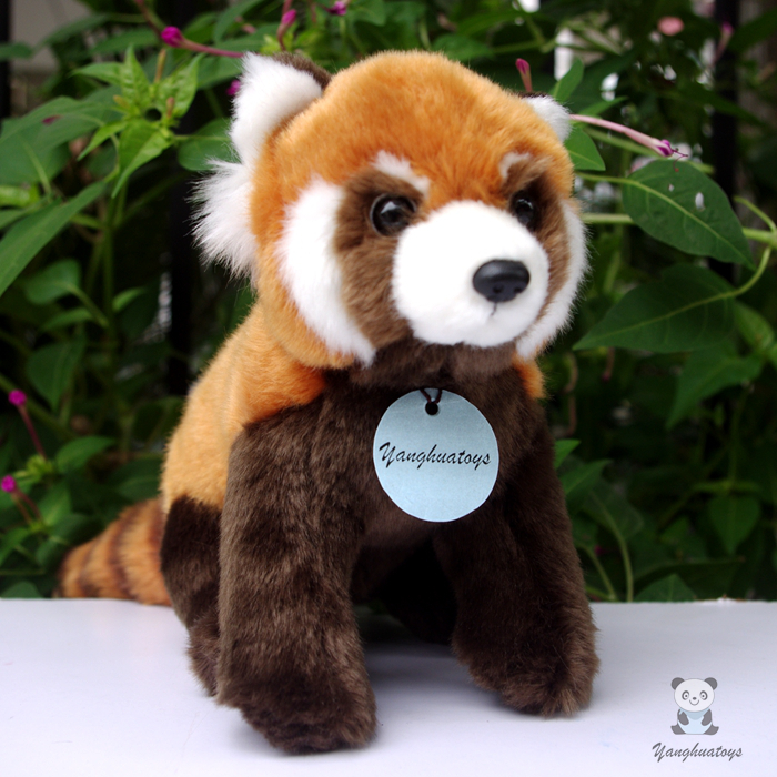 Simulation Stuffed Red Panda Child Toy Lovely Plush Raccoon Doll Toys  Birthday Gift  Dolls plush dinosaur doll child toys magic dragon simulation stuffed animal toy dolls stores