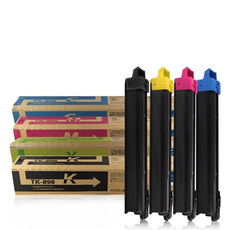 Livraison gratuite 4 couleurs KMCY copieur cartouches de toner tk-895 TK896 pour Kyocera FS8020 C8520 8025 8525Livraison gratuite 4 couleurs KMCY copieur cartouches de toner tk-895 TK896 pour Kyocera FS8020 C8520 8025 8525
