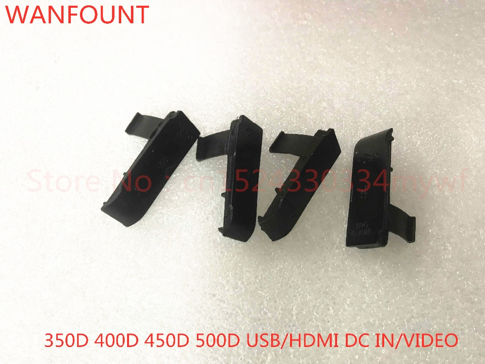 US $11 22 |NEW USB/HDMI DC IN/VIDEO OUT Rubber Door Bottom Cover For Canon  EOS 350D 400D 450D rebel XT XTi XSi kiss N X X2 digital camera-in Camera