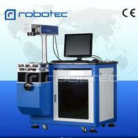 Low Price Metal Plastic Autoparts Animal Ear Tag Fiber Laser Marking Machine