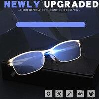 0bc913ea8 WEARKAPER Screwless Anti Blue Light Ray Computer Reading Glasses Women Men  Ultra Light Readers Eyewear Men