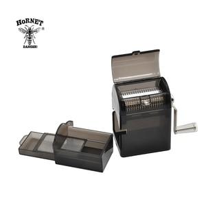 Image 5 - HORNET plastikowy młynek do ziół korba ręczna kruszarka młynek do tytoniu młynek do mielenia z futerał do przechowywania ręczny Miller