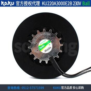 NEW KAKU KU220A3000E2B 220V diameter 220 turbine turbo Centrifugal cooling fan