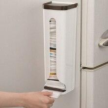 Кухонный Органайзер, портативные бытовые стеллажи для хранения, пластиковый ящик для хранения, настенный, для ванной комнаты, мешки для мусора, держатели, стойки