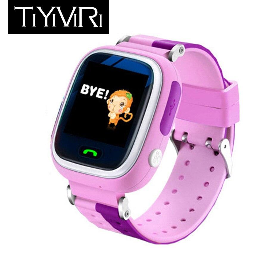 Smart Watch GPS Watch Kids Waterproof Smart Watch GPS Kids SOS Call Location Device Tracker Kids Safe Anti-Lost Touch Screen